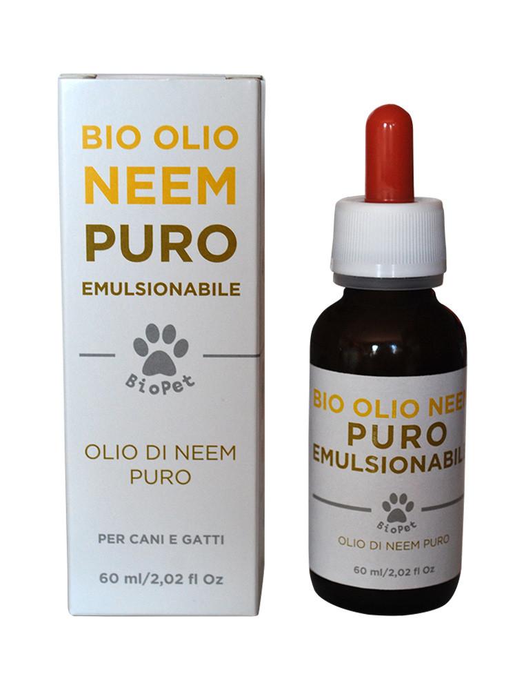 Bio Olio di Neem emulsionabile cani e gatti