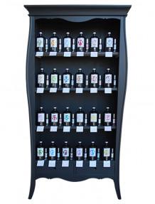 Mobile 4 piani 2 cassetti laccato