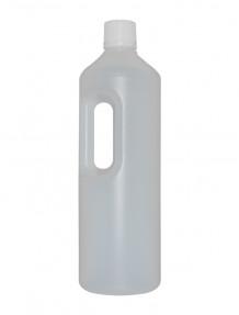 Bottiglia PE con manico e tappo salvabimbo